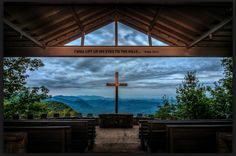 pretty place chapel in the blue ridge mountains South Carolina - this would be a beautiful place for a wedding! Pretty Place Chapel, Greenville South Carolina, North Carolina, Religion, Blue Ridge Mountains, Death Valley, Kirchen, Wedding Venues, Wedding Destinations