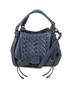aba3a0bf33 Jonnie Mini Woven Crossbody Bag by Kooba at Neiman Marcus. Leather Crossbody  Bag