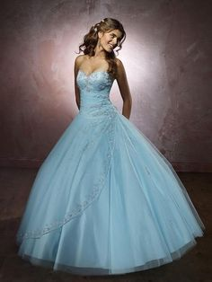 sweetheart ball gown - Google Search