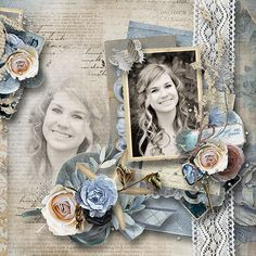 Nostalgic of Summer by Valentina's Creations. Page created by Anny-Libelle  #theStudio #digiscrap
