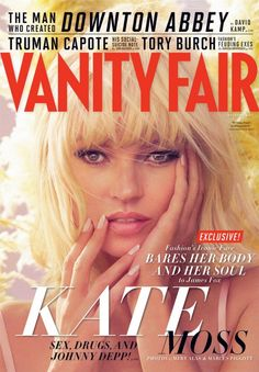 Magazine Covers - kate moss for vanity fair