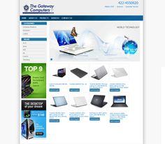 Computer Shopping Website by http://zaaraatech.com