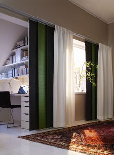 The FLYN LILL curtains look great in your home year round, and add a festive flair in the month of March.