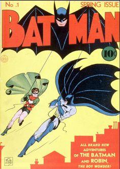 Im Kampf gegen das Böse: Batman ist 75 - Der erste Batman-Comic erschien im Frühling 1940. Mit über 700 Ausgaben gehört Batman heute zu den Comic-Serien mit der längsten Publikationsgeschichte. Anfangs erschien die Serie vierteljährlich. Später änderte man den Publikationsrhythmus auf alle zwei Monate. Seit den 1950er Jahre erscheint der Comic monatlich. Mehr zum Jubiläum: http://www.nachrichten.at/nachrichten/kultur/Im-Kampf-gegen-das-Boese-Batman-ist-75;art16,1450167 (Bild: AP)