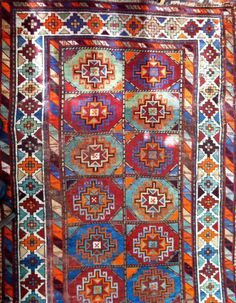 Anatolian Kurdish Rug All Are Colors Natural Dyes Size