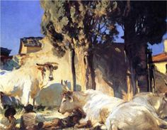 "Fan account of John Singer Sargent, an American artist, considered the ""leading portrait painter of his generation"" for his depictions of the Edwardian era John Singer Sargent Watercolors, Environment Painting, Environment Design, Sargent Art, Animal Paintings, Oil Paintings, Impressionist Paintings, American Artists, Love Art"