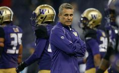 SEATTLE, WA - OCTOBER 17:  Head coach Chris Petersen of the Washington Huskies looks on prior to the game against the Oregon Ducks on October 17, 2015 at Husky Stadium in Seattle, Washington.  (Photo by Otto Greule Jr/Getty Images) Photo: Otto Greule Jr/Getty Images