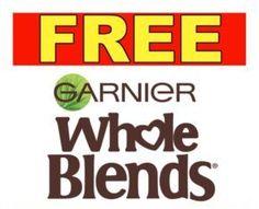 Garnier FREE Sample for Canada ~ Get your Garnier Whole Blends Sample Now!