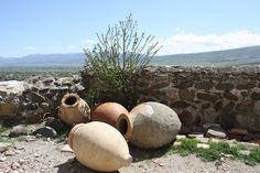 Discover Georgia: Amphorae Uplistsikhe. http://www.originaltravel.co.uk/blog/country/europe/georgia/the-birthplace-of-georgia%E2%80%99s-most-infamous-son-part-3.html?preview=true_id=7587_nonce=549aa74516