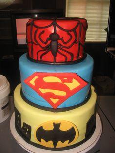 Super Hero ! Batman Superman Spiderman