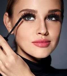 There are a lot of different types of mascara out there. But perhaps the most sought-after are the ones that create buildable volume to result in sky-high lashes. I take finding the best fiber mascaras for longer, fuller lashes quite seriously, so… Get Long Eyelashes, How To Grow Eyelashes, Longer Eyelashes, Eyelash Perm, Eyelash Tips, Eyelash Extensions, Biotin, Best Lengthening Mascara, Avon