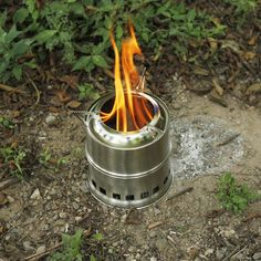 Camping & Hiking Beautiful Boruit Camping Wood Stove Portable Outdoor Folding Titanium Wood Stove Burning For Backpacking Survival Cooking Picnic Hunting Easy To Repair