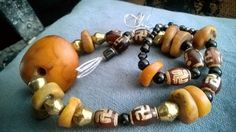 Rare vintage mix Tibet beads