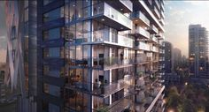 """New condos """"8X On The Park"""" coming to Emery Barnes in Yaletown, Vancouver, Canada."""