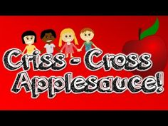 Criss-Cross Applesauce (a carpet transition song for kids) - YouTube