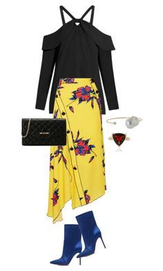 """Trending"" by cly88 ❤ liked on Polyvore featuring Proenza Schouler, Gianvito Rossi, mizuki and Love Moschino"