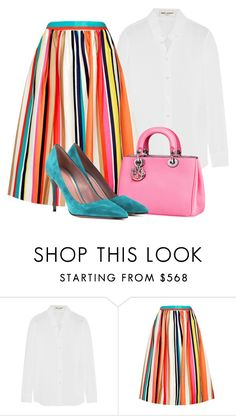 """""""candy"""" by needlework ❤ liked on Polyvore featuring Yves Saint Laurent, Alice + Olivia and Gucci"""