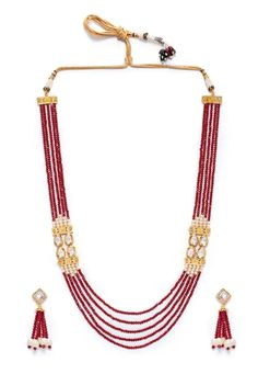 Shop Red Alloy Austrian Diamond Necklace Set Earrings 199010 online from huge collection of indian ethnic jewellery at Indianclothstore.com. Diamond Necklace Set, Tassel Necklace, Ethnic Jewelry, Jewellery, Indian Ethnic, Earring Set, Red, Shopping, Collection