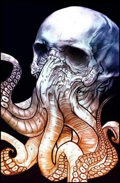 Cthulhu death mask