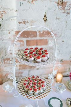 Mini cupcakes! Photo by Bekah Taylor Photography