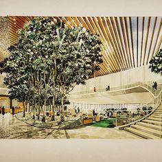 """ถูกใจ 131 คน, ความคิดเห็น 7 รายการ - Joan Looney (@joanborawskijoa) บน Instagram: """"I ❤️ this kitchen designed by Angela Crittenden of @teal_interiors!  #handrendering #interiordesign…"""""""