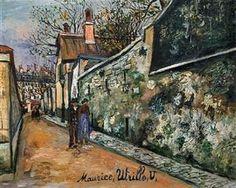 St. Vincent street - Maurice Utrillo