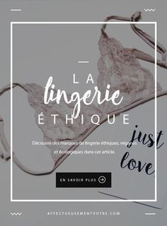 Stock up on lingerie ethical vegan and ecological brands Ethical Clothing, Ethical Fashion, Slow Fashion, Diy Fashion, Fashion Online, Fashion Shoes, Style Feminin, Mode Simple, Dressing