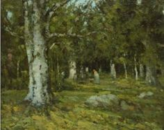 In the Forest - Ion Andreescu century World Famous Paintings, Popular Paintings, Sistine Chapel Ceiling, Art Quiz, Art Periods, Open Art, Mobile Art, Virtual Art, Albrecht Durer