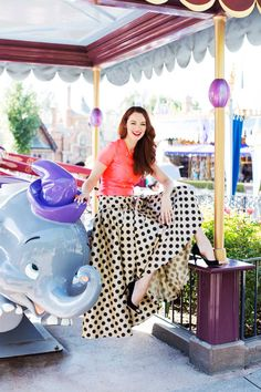 The Disneyland Photo Shoot of Our Dreams- I WANT this skirt!!!!