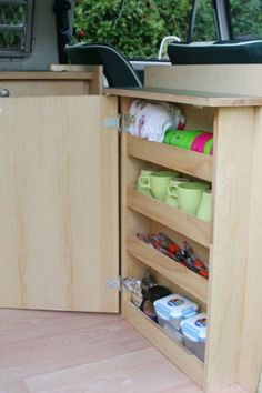 Camper Interior Storage Ideas