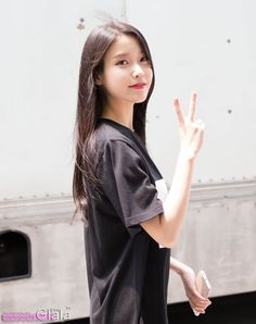 Uploaded by princess. Find images and videos about kpop, iu and lee ji eun on We Heart It - the app to get lost in what you love. Kpop Girl Groups, Kpop Girls, Korean Beauty, Asian Beauty, Korean Celebrities, Celebs, Korean Girl, Asian Girl, Iu Fashion