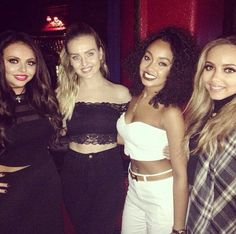 The girls at the Rixton concert