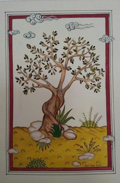 Tile Art, Art Journal Inspiration, Native American Art, Miniature Art, Drawing Illustrations, Flower Art, Art, Painting Lessons, Miniature Painting