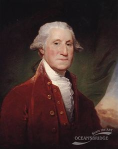George Washington 1795-1796 by Gilbert Stuart