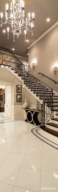 A luxurious entryway.