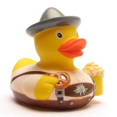 Badeente Bayer Sepp Rubber duck Bavaria
