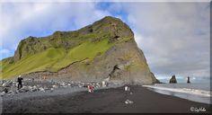 Reynisfjara við Reynisdranga