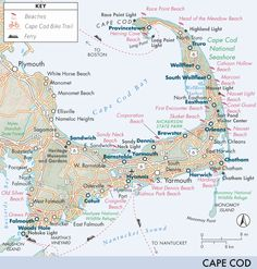 Discover the best places to explore near Cape Cod with curated recommendations from our team of travel experts. Boston Vacation, Cape Cod Vacation, East Coast Road Trip, Road Trip Usa, Travel Tours, Travel Usa, Boston Travel Guide, Cape Code, Cape Cod Map