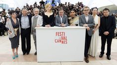 Jury Photocall.   Lynne Ramsay, Ang Lee, Steven Spielberg, Nicole Kidman, Daniel Auteuil, Vidya Balan, Christoph Waltz, Naomi Kawase and Cristian Mungiu attend the jury photocall during the 66th Annual Cannes Film Festival at the Palais des Festivals on May 15.