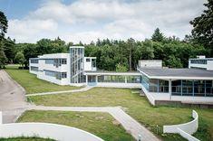 MJ Long's inspiration: Zonnestraal Sanatorium by Jan Duiker with Bernard Bijvoet. Photo: Edward Tyler