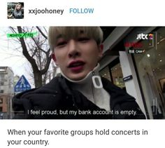 I wish they'd hold concerts at all so that I could experience this lol...