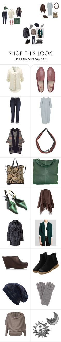 """осень лето зима"" by yaninatsybulskaya ❤ liked on Polyvore featuring FitFlop, Melissa McCarthy Seven7, Isolde Roth, NOVICA, Dries Van Noten, chissene, Chicnova Fashion, Paule Ka, C by Bloomingdale's and Rick Owens"