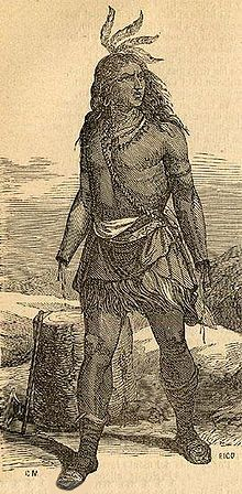 Galvarino, a Mapuche warrior, had both of his hands cut off as punishment for defying the Spanish. He returned home, raised an army, and fought the Spanish with blades tied to the stubs of his arms.