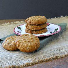 Gluten Free Peanut Butter Oatmeal Cookies