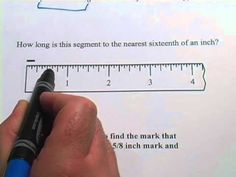 Great video tutorial on how to locate fractions on a number line.