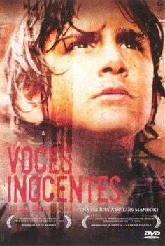 """""""Voces inocentes / Innocent voices"""" (México 2004).  Dirección: Luis Mandoki.  Tema: Els nens soldat."""