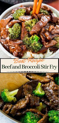 Beef and Broccoli Stir Fry dinnerrecipe food amazingrecipe easyrecipe 13299761387660414 Teriyaki Beef Stir Fry, Stir Fry Wok, Beef Broccoli Stir Fry, Ground Beef And Broccoli, Easy Beef And Broccoli, Broccoli Recipes, Steak Stir Fry, Healthy Stir Fry, Healthy Food