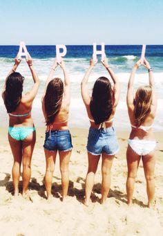 Alpha Phi summertime!