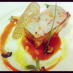 @chefdanitorres | Patata, pies de cerdo y gambas. comida gourmet #food