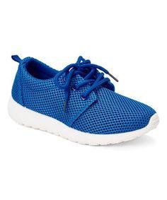 Look what I found on #zulily! Blue Sneaker by Voltage #zulilyfinds